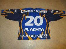 Ice Tigers Nürnberg Original Eishockey Trikot 2001/02 + Nr.20 Plachta Gr.XL