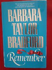 Remember * Barbara Taylor Bradford * First Edition * 1991 *