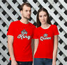 King and Queen -Valentine's Day Matching T-Shirts for Couples!