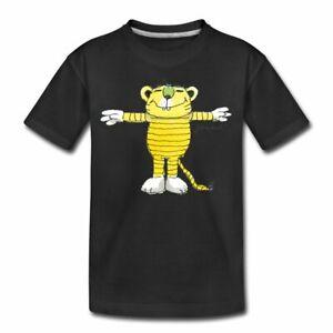 Janosch Tiger Pose Teenager Premium T-Shirt
