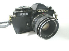 Yashica FX-3 SLR Film 35mm Camera AS IS PARTS w/ 50mm 1.2 lens