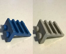 2X LEGO 4175 Plate 1x2 with Ladder Blue Gray 1489 6543 6980 6930 5571 5563 5590