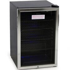 Beverage Refrigerator Mini Wine Fridge Soda Beer Water Drinks Bar Cooler Stand
