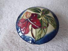 Moorcroft Simeon powder bowl   -   Tube lined hand decorated piece