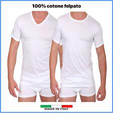 Maglia Intimo TERMICA IRGE uomo CALDO COTONE felpato INVERNALE maglietta intima