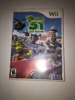 Planet 51: The Game (Nintendo Wii, 2009) Tested Fast Shipping