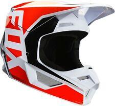 Fox V1 Prix Motocross MX Offroad carrera casco Flo Naranja adultos