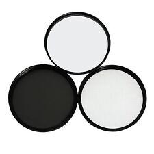 77mm Lens Filter Kit includes Circular Polarizer, UV, and Star Lens