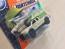 Matchbox New Toy Model Car 86/125 '16 Toyota Tacoma Camping Tent Pick Up Sealed