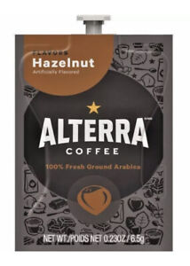 Flavia Alterra Coffee, Hazelnut  (Case of 100) Exp. 12/20/2020