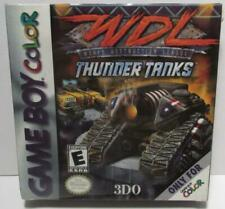 WDL Thunder Tanks Game Boy Color Game NEW Rated E