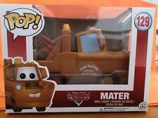 NIB Genuine Funko Pop! Disney Cars Pixar Mater #129 Vinyl Figure