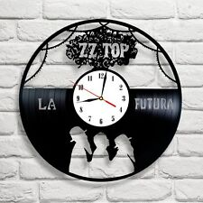 Zz top la futura bande design vinyle horloge home decor art cadeau chambre club
