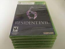 Resident Evil 6 (Microsoft Xbox 360, 2012) XBOX 360 NEW!