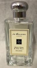 JOE MALONE Wood Sage & Sea Salt Cologne 3.4 oz NEW Unboxed Check Description