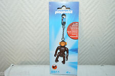PORTE CLE SINGE PLAYMOBIL CLEF KEY CHAIN MONKEY NEUF COLLECTION