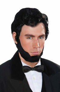 President Abraham Lincoln Adult Wig & Beard Set