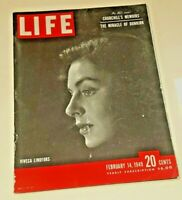 February 14, 1949 LIFE Magazine US 40s Advertising ads add  FREE SHIP Feb 2
