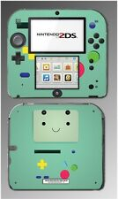 Adventure Time Beemo BMO Jake Finn Controller Video Game Skin Cover Nintendo 2DS