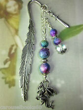 Beaded Bookmark Dragon Sword Handmade Silver Game of Thrones More Designs