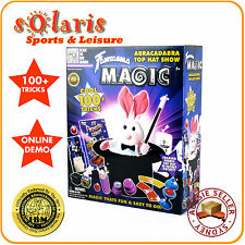 ABRACADABRA TOP HAT SHOW 100+ Tricks Set FANTASMA MAGIC Classic Toy Magic Kit