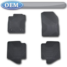 OEM NEW 2011-2013 Ford Fiesta All-Weather Vinyl Floor Mats, Rubber Catch-All
