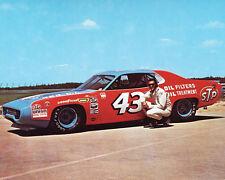 1973 Nascar Racing RICHARD PETTY Glossy 8x10 Photo STP Winston Cup Print