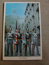 Cadat Chapel Color Guard, West Point, NY Postcard Unused