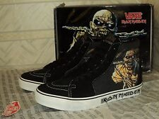 Vans & Iron Maiden   Sk8-hi  Piece of Mind  Black Lemon  VN-0D5I2AA