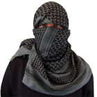Military army shemagh heavyweight arab tactical desert keffiyeh scarf 100%cotton