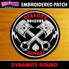 Patch Parche TON UP Triumph Cafe Racer CSA Rock & Roll Teds Rockabilly Rocker