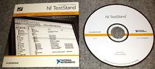 NI TestStand 30-days evaluation DVD NATIONAL INSTRUMENTS ORIGINAL 350535G-01