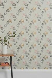 Next Mari Sprig Floral Paste The Wall Wallpaper Batch 1 New & Sealed