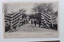 26172 Ak Zollbrücke Leibitsch Grenze Blick nach Russland 1914 Westpreußen Thorn