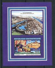 1992 - LOTTO/19495 - REP. CENTRAFRICANA -EXPO DI SEVILLE FOGLIETTO