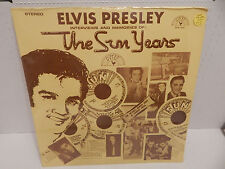 ELVIS PRESLEY ~ THE SUN  YEARS - 1977 SUN MEMPHIS LABEL 1001 MINT SEALED LP