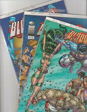 Bloodpool 1,2,4 Image Comics Book 1995 VF/NM 9.0 Blood Pool