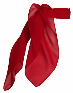 Hip Hop 50s Shop Sheer Chiffon Scarf Vintage Style Accessory for Women