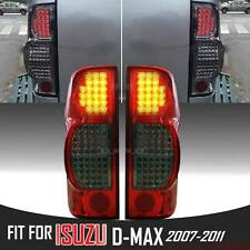 Eagle Eye Red Smoke Black Tail Rear Led Light Lamp For Isuzu Dmax D-max 07-11