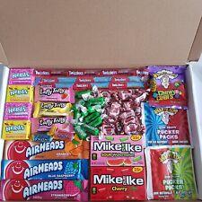 American Sweets Gift Box USA Candy Hamper Laffy Taffy Nerds Airheads Tootsie