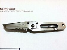 CRKT KISS KEEP IT SUPER SIMPLE KNIFE/ 3CR13 STAINLESS COMBO EDGE BLADE & FRAME