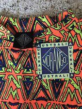 Vintage 80s 90s Deadstock Single Stitch Neon Mens Surf Hip Hop Tribal T Shirt XL