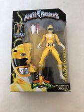 "Power Rangers Legacy Mighty Morphin 6"" Yellow Ranger Figure New Damaged Box"