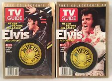 TV GUIDE July 4-10, 2004 ELVIS PRESLEY 2 Different Covers w/CD