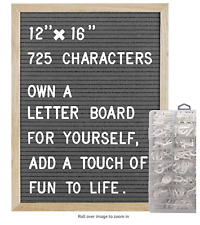 Cosfly Felt Letter Board with Letters 12 x 16 inches Changeable Message Board P6