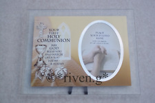 YOUR FIRST HOLY COMMUNION PHOTOGRAPH GIFT FRAME@GOD BLESS YOU PICTURE FRAME GIFT
