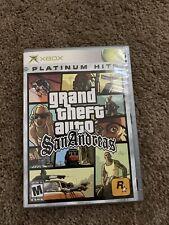 """Grand Theft Auto: San Andreas """"M"""" Version (Microsoft Xbox, 2005)"""