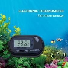 1x Lcd Digital Fish Tank Reptile Aquarium Water Meter Thermometer D O2C6