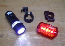 Front and Rear LED Bike Light Set