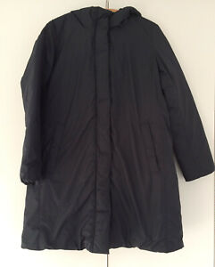 Muji water-repellant Australian down coat, size L, new, with tags